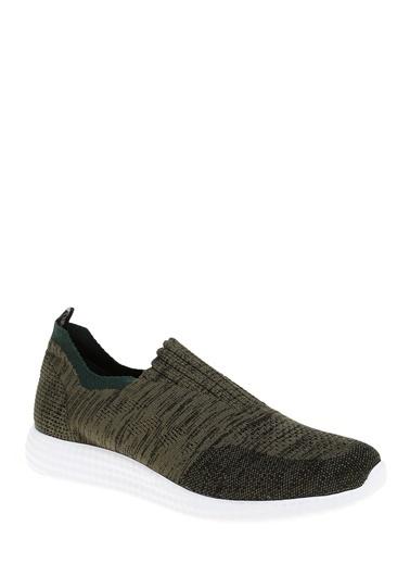 D by Divarese Çorap Stili Spor Ayakkabı Yeşil